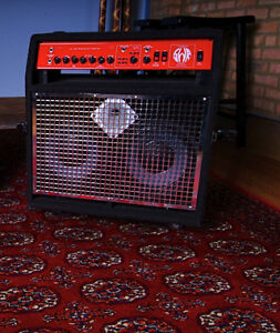 SWR Super Red Head Combo Bass amp with Flight Case!