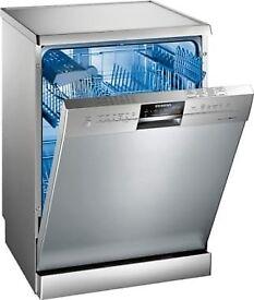 SIEMENS Free Standing Dishwasher Model No. SN26M830GB