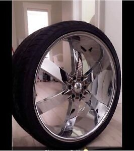 ALL SEASON TIRES AND RIMS! *MINT*