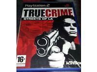 True Crime Streets of LA PS2 game