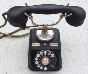 1930 Antique Desk Telephone, Working