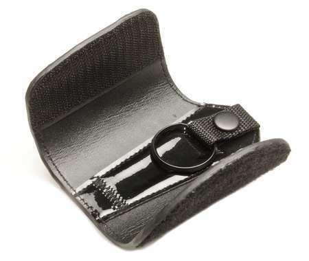 Key-Bak 8710 Key Reel, Split Ring Type, 1 1/4 In Ring Size, Black