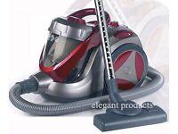 USED HIGH EFFICIENCY 1400W MOTOR 5L BAGLESS CYCLONIC VACUUM CLEANER/HOOVER