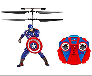 NEW REMOTE CONTROL  Captain America IR Helicopter w/ Audio R?C