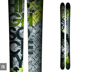 High Society FR Skis 185cm Gymea Sutherland Area Preview
