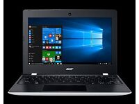 Acer Aspire One Cloudbook 11 AO1-132, 11.6 inch White laptop NEW