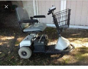 Electric mobility scooter wheelchair