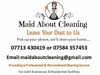 MAID ABOUT CLEANING - Cleaning Service Offering Domestic, Commercial & End Of Tenancy Cleaning