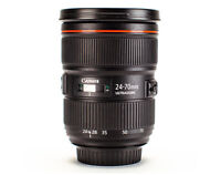 Rent Canon EF 24-70mm f2.8 Lens $18/Day