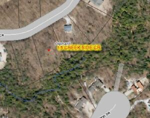 OLIPHANT ~ FANTASTIC VACANT LOT! BUILD YOUR DREAM HOME HERE!