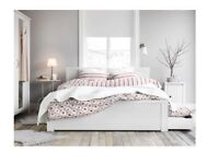 IKEA Standard King Size Bed with free mattress free delivery