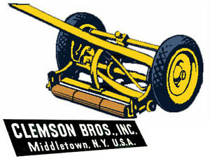 Reel Mower ~ Clemson Bros.
