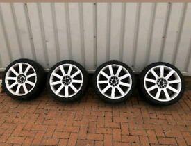 Audi tt mk1 s3 rs4 wheels 18 5x100 5x112