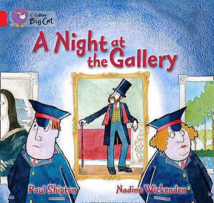 A Night at the Gallery: Red A/Band 02a, Paul Shipton