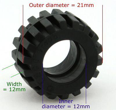 Brickbrowser.com LEGO 60700 Tyre