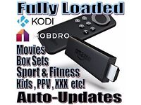 The Kodi King - Android boxes or Amazon Firesticks fully loaded - I can also update your own