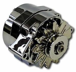 proform gm 100 amp + 1-wire chrome alternator new