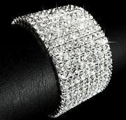 Silver Diamante Bangle