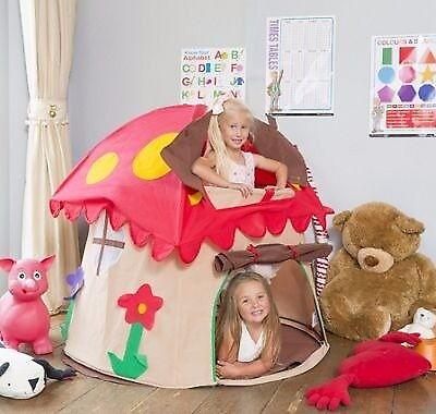 Mushroom, fairy play tent