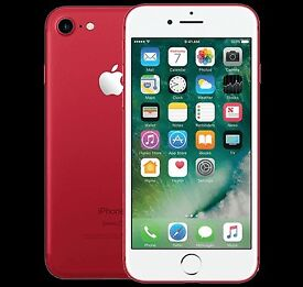 iPhone 7 Red 128GB Unlocked. Perfect Condition With Apple Warranty.