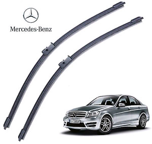 "24+24"" Front Windshield Wiper Blades Mercedes Benz C Class 08-13"