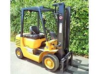 Caterpillar Diesel Counterbalance forklift truck, Not Gas Linde Toyota Hyster