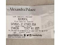 X2 Rudimental Tickets