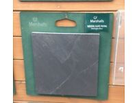 Marshall midnight blue slabs 600 x 600 x20mm selling for £5.00 per slab
