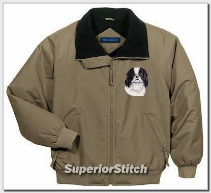 JAPANESE CHIN embroidered challenger jacket ANY COLOR