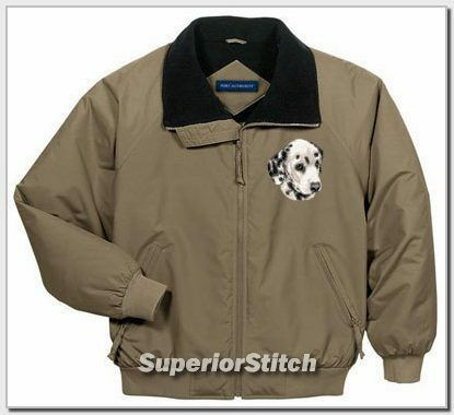 DALMATIAN embroidered challenger jacket ANY COLOR