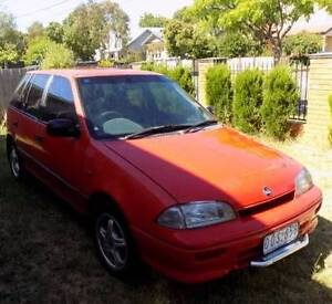 1993 Holden Barina Hatchback Oakleigh Monash Area Preview
