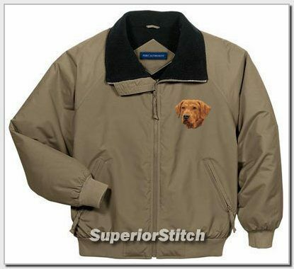 CHESAPEAKE BAY RETRIEVER embroidered jacket ANY COLOR