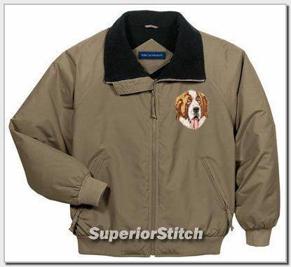 SAINT BERNARD embroidered challenger jacket ANY COLOR