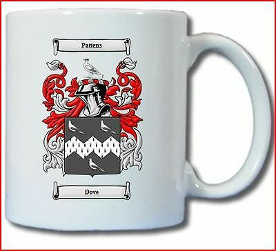 DOVE COAT OF ARMS COFFEE MUG