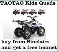 BRAND NEW KIDS MINI 110CC ATVS FULLY LOADED WHOLESALE -