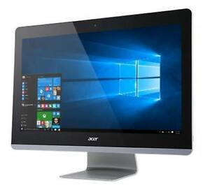 "Acer Aspire Z3-715Core i3  -3.2 GHz - 8 RAM - 1 TB - 24"" Screen - Windows 10"