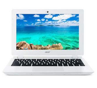 New Google Chrome Laptop Computer White Acer Chromebook CB3-131-C3SZ 11.6