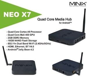Android Minix Neo X8H+, X7, X5 fully loaded with qwerty keyboard