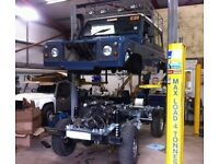 Landrover Chassis