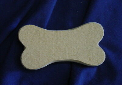 QTY 2 - DOG BONE 3 INCH SOAP MOLD 4659 Moldcreations