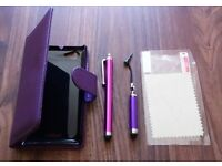 Mobile case and mobile touch pen