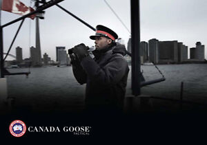 AUTHENTIC CANADA GOOSE MENS TACTICAL CONSTABLE PARKA SIZE LARGE