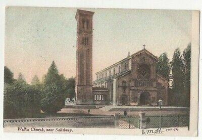 Wilton Church Salisbury Wiltshire JWS 939 J Welch 1904 Postcard 243c