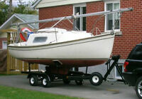 Nash 20 Sailboat with Trailer