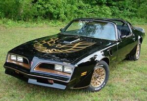 WANTED - 1977-1979 Black Trans Am