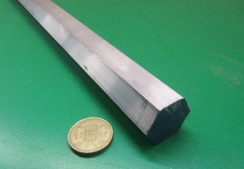 "2024 Aluminum Hex Rod 1.00"" Hex x 6 Ft Length"