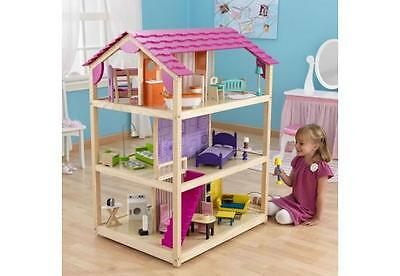 Kidkraft So Chic Dollshouse, Children Wooden Dollshouse, Wooden Toys