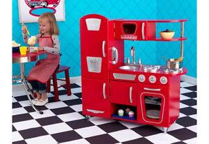 Kidkraft Kinderküche rot Retro Küche Spielküche 53173 günstig kaufen ...