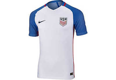 05ea7af67d7 USA 2016 Authentic Home Soccer Jersey 724642-100