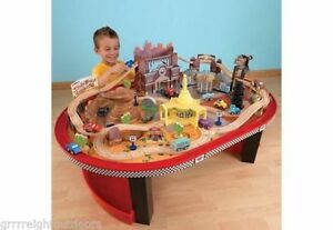 Disney Pixars Cars Train/ Car table. -Great  Gift idea!
